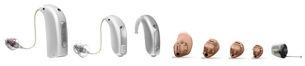Oticon Hearing Aid product line