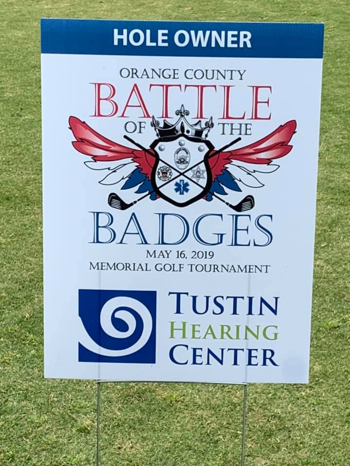 Battle of the Badges Golf Tournament