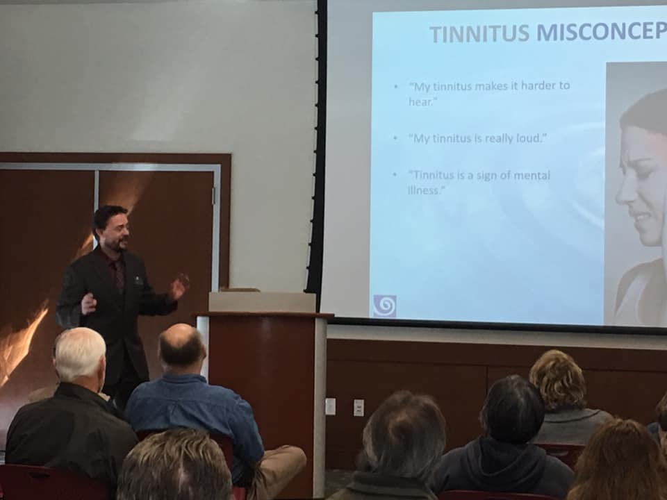 Educational Tinnitus Seminar - Tustin Library