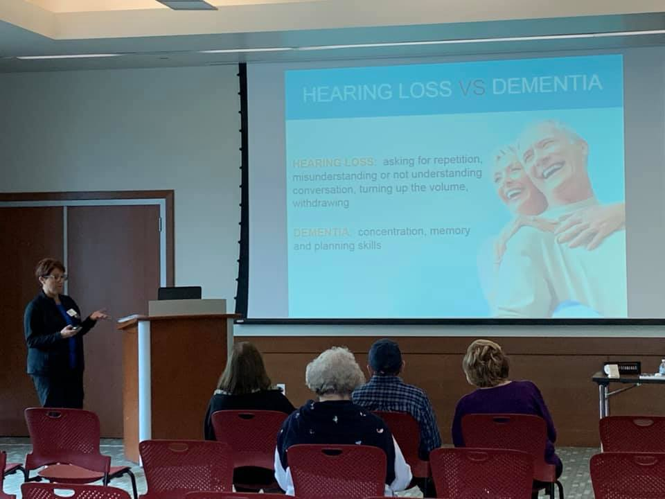 Dementia and Hearing Loss Seminar - Tustin Library